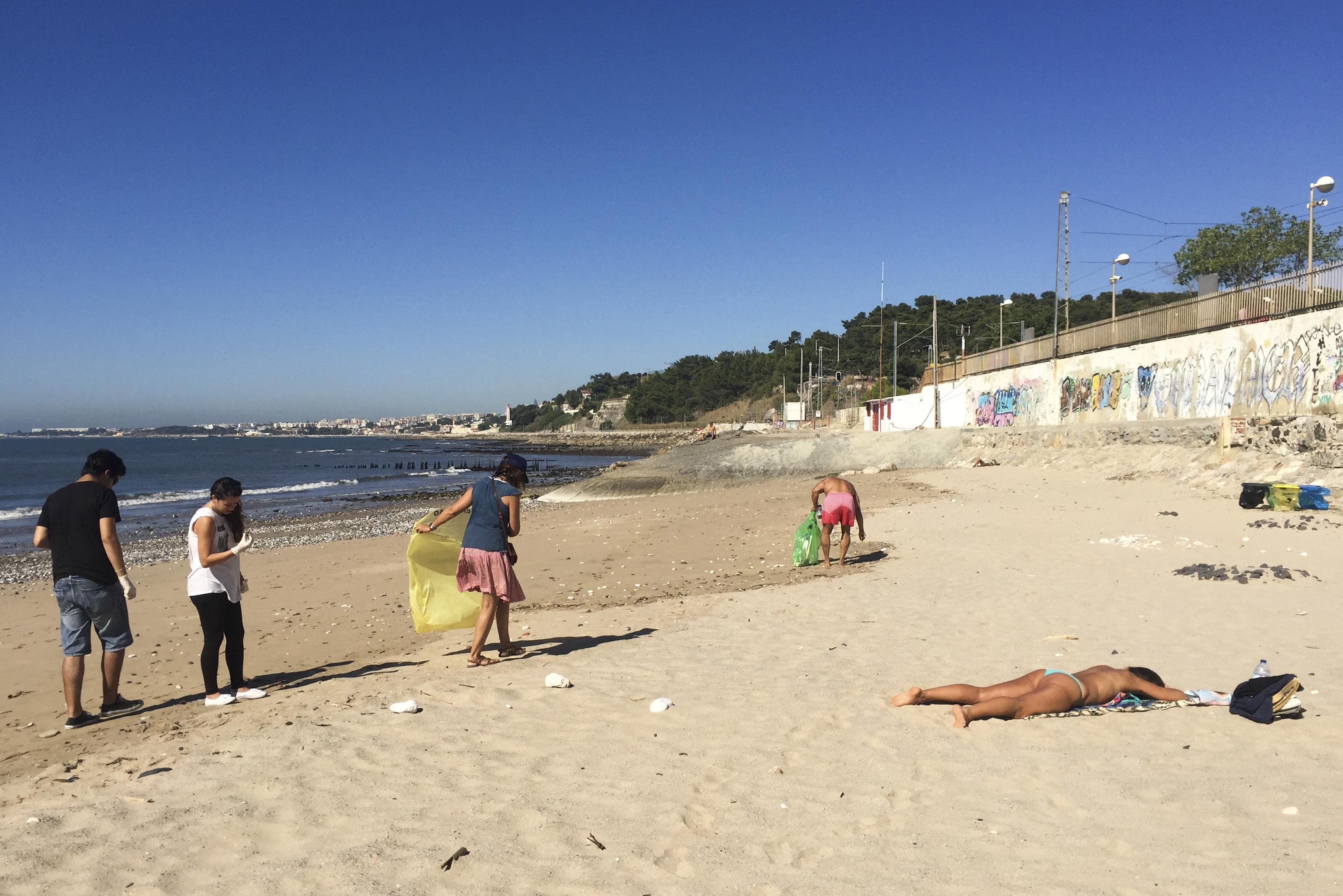 Limpeza dos oceanos é meta de projeto lançado hoje na ilha da Culatra