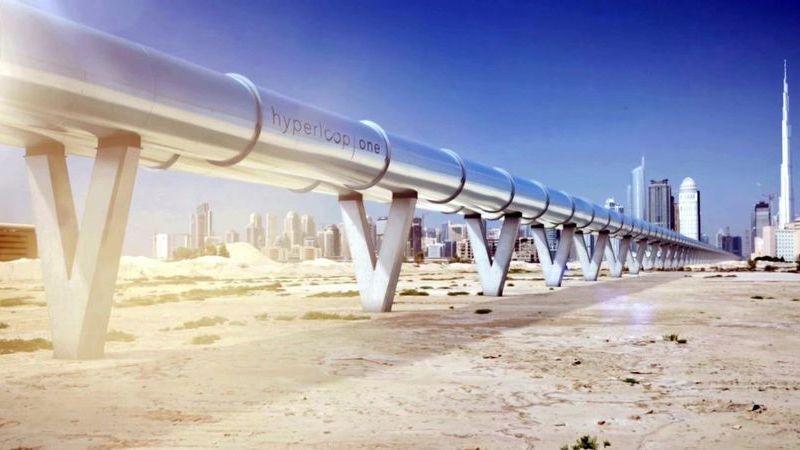 """Comboio """"supersónico"""": Virgin andou a mostrar cabine de passageiros no Dubai"""