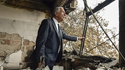 Marcelo visita concelhos afetados pelos fogos