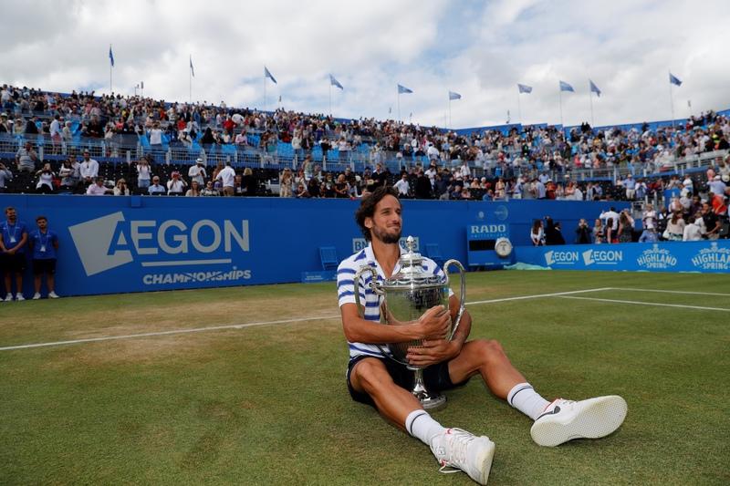 Feliciano López triunfa, pela primeira vez, em Queen's