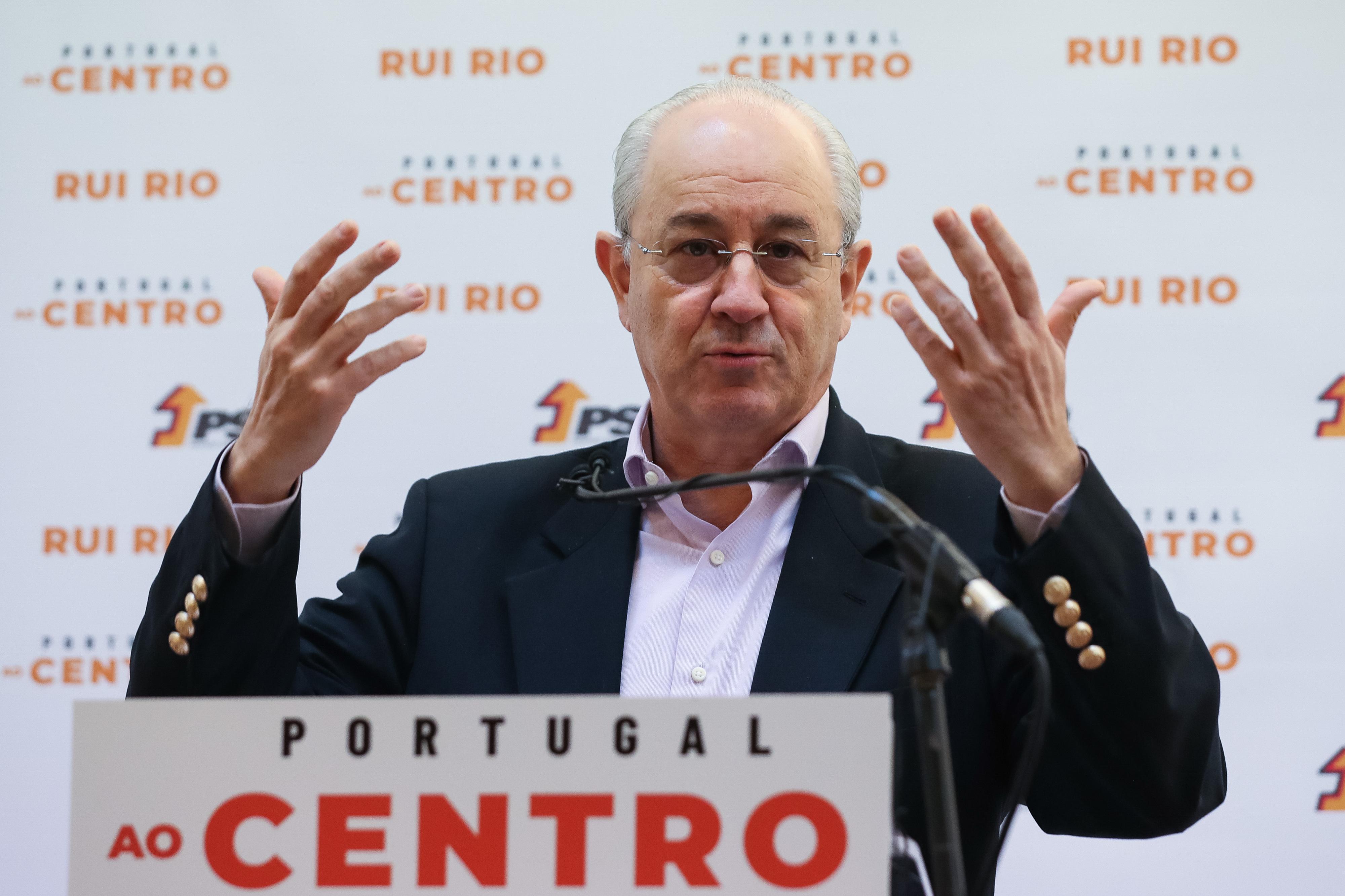 Rui Rio não gostou da primeira parte do debate e admite que até pode prejudicar o PSD