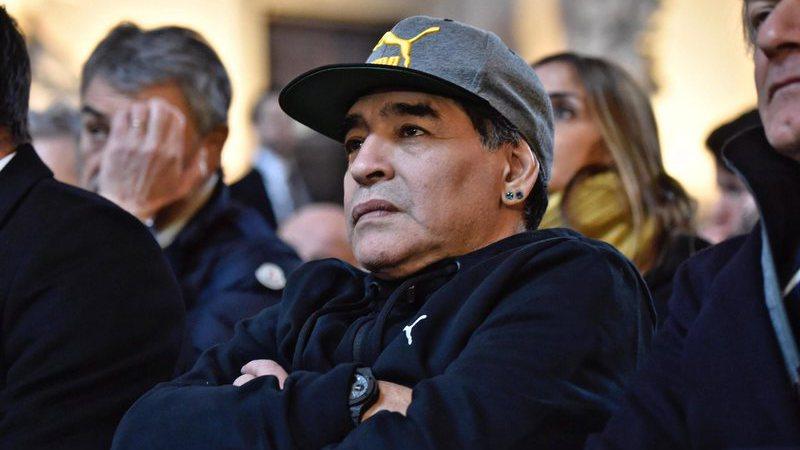 """Maradona: """"Na Federação Argentina eu metia uma granada e fazia uma nova"""""""