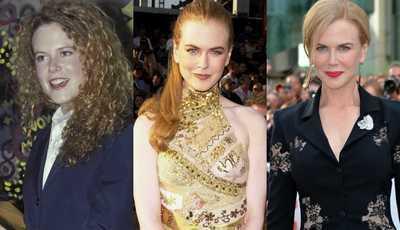 Veja a evolução do estilo (nem sempre consensual) de Nicole Kidman