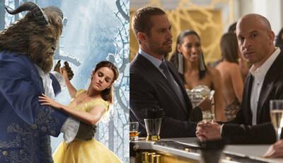 """De """"A Bela e o Monstro"""" a """"Velocidade Furiosa 7"""": Viu os filmes com as melhores estreias em Portugal?"""