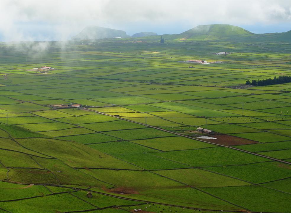 Açores: a deslumbrante manta de retalhos da Serra do Cume