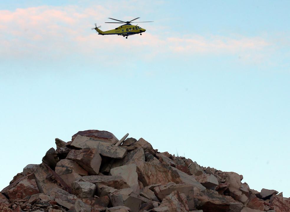 Helicóptero do INEM com quatro pessoas a bordo desapareceu na zona de Valongo