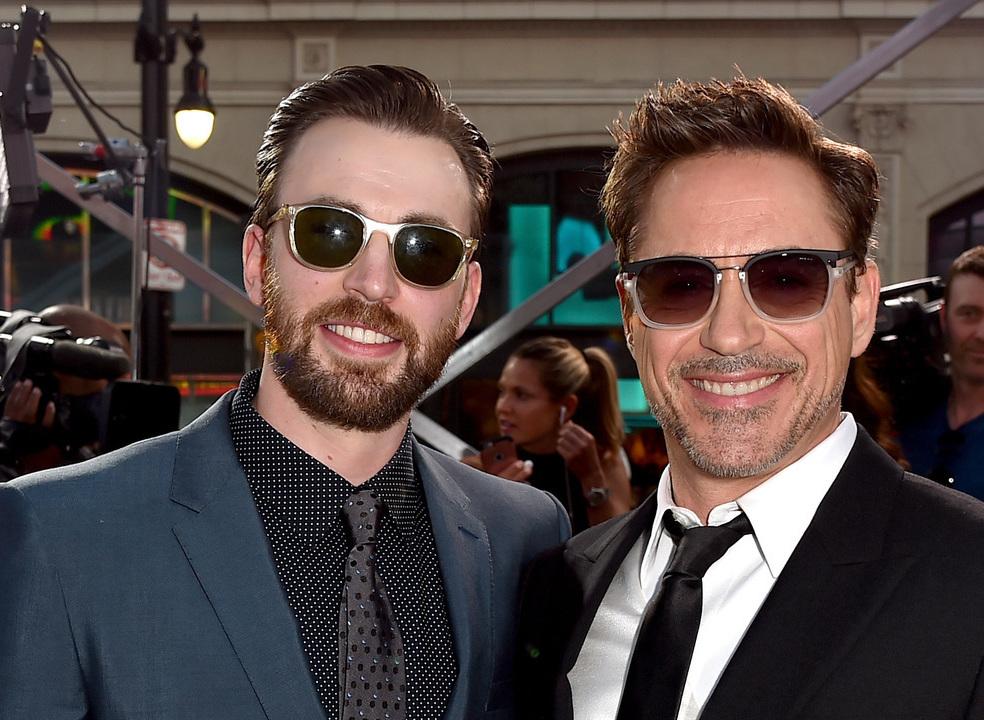 Robert Downey Jr. e Chris Evans: uma amizade igual à dos filmes da Disney?