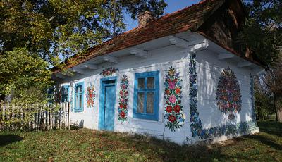 Polónia: Casas pintadas à mão são atração turística