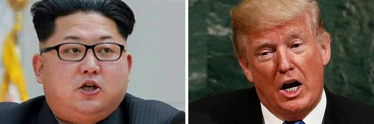 Mundo à beira da guerra? Pingue-pongue perigoso entre Trump e Kim