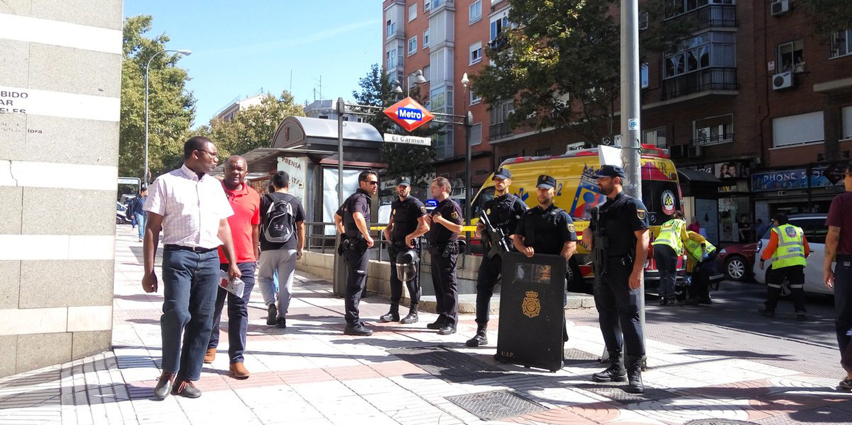 Polícia deteve presumível autor de esfaqueamento junto ao estádio do Atlético Madrid