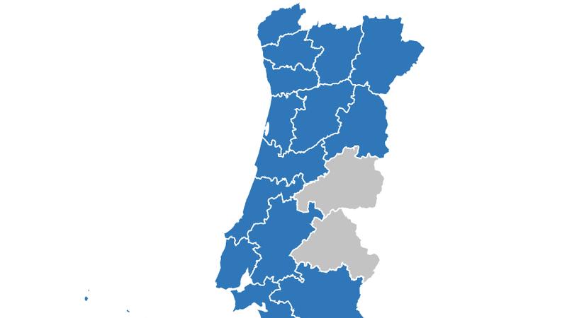 Interativo: COVID-19 concelho a concelho. Veja aqui os dados na sua terra