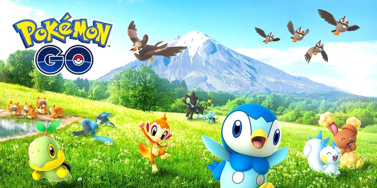Pokémon GO foi invadido pela quarta geração de monstrinhos