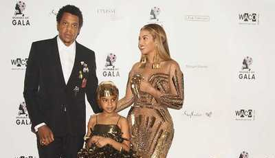 O look espampanante de Beyoncé e da filha na Wearable Art Gala