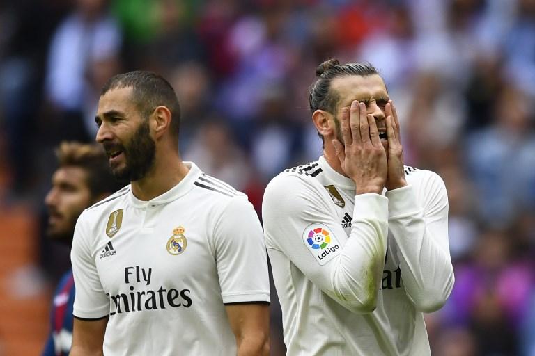 Lesão no tornozelo deixa Bale fora do jogo com o Rayo Vallecano