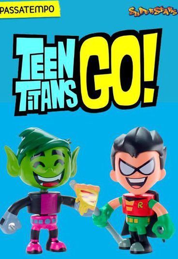 Ganha figuras dos Teen Titans Go
