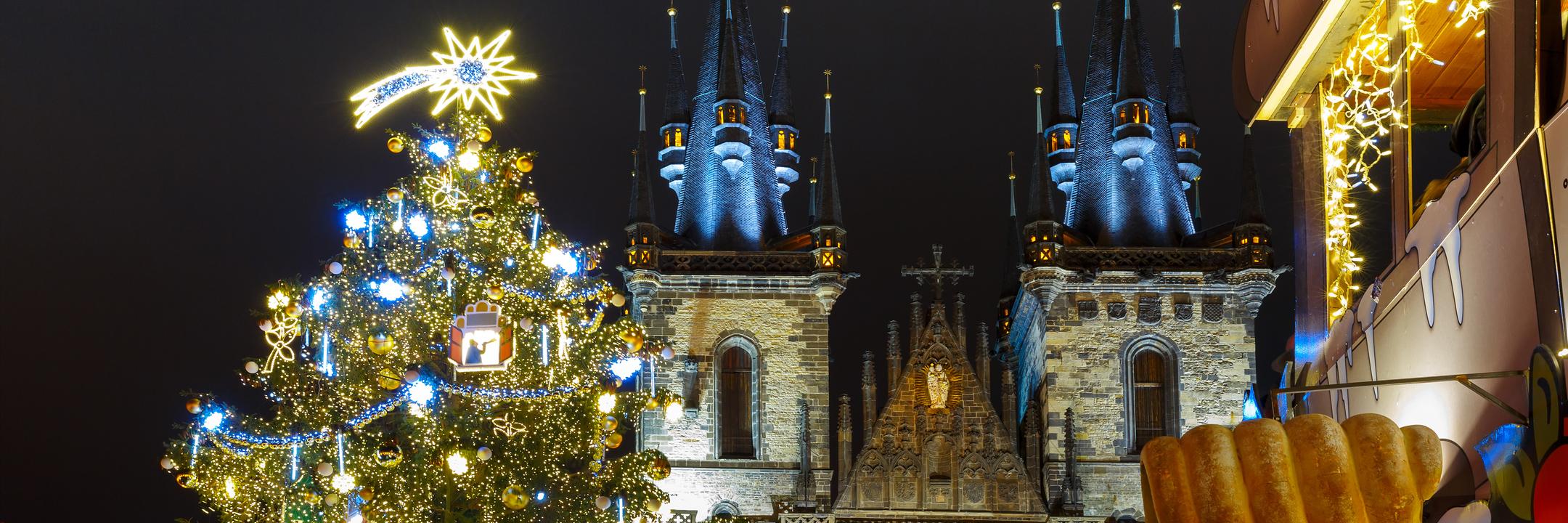 Viva o Natal em Praga