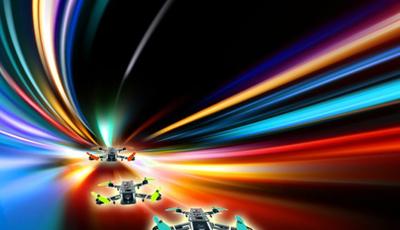 As mais espetaculares corridas de drones