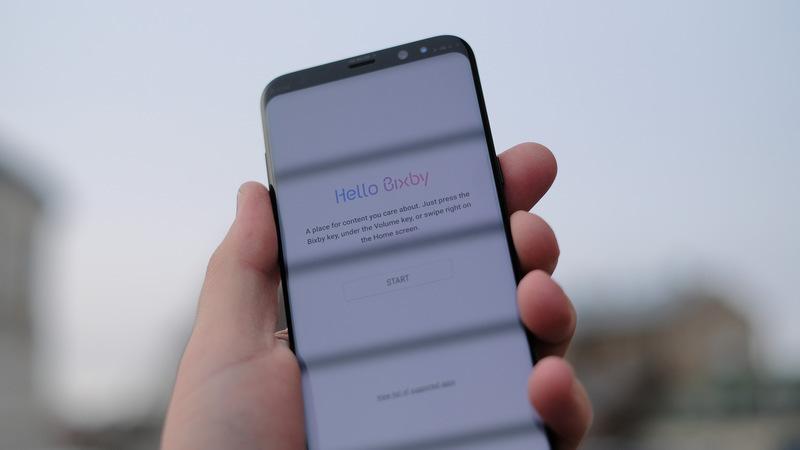 S8: utilize o botão Bixby para lançar o assistente virtual da Google