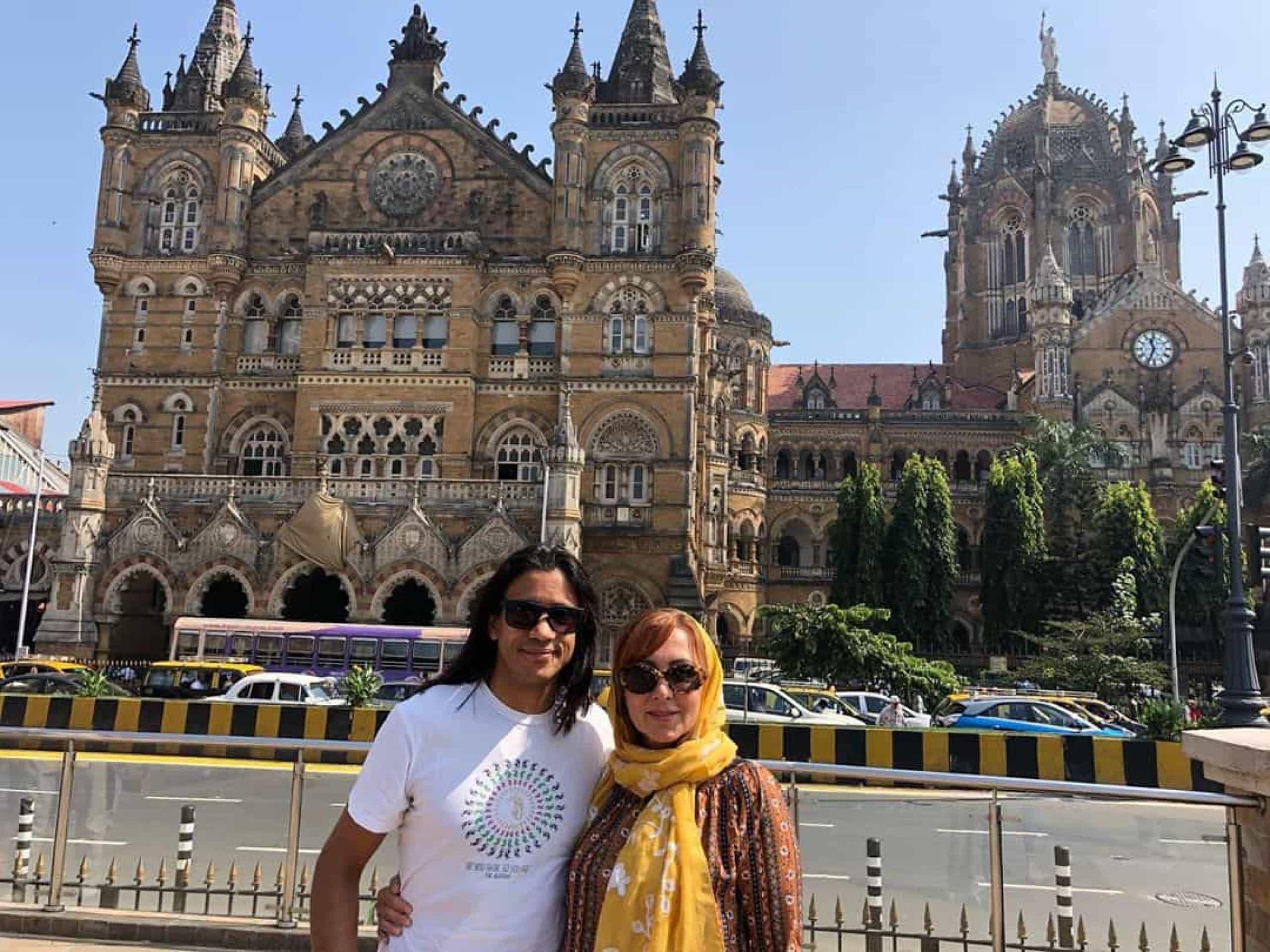 As férias de Maria João Abreu e do companheiro na Índia