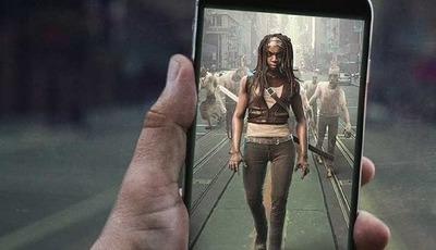 """The Walking Dead AR"" traz a realidade aumentada para o universo dos zombies"