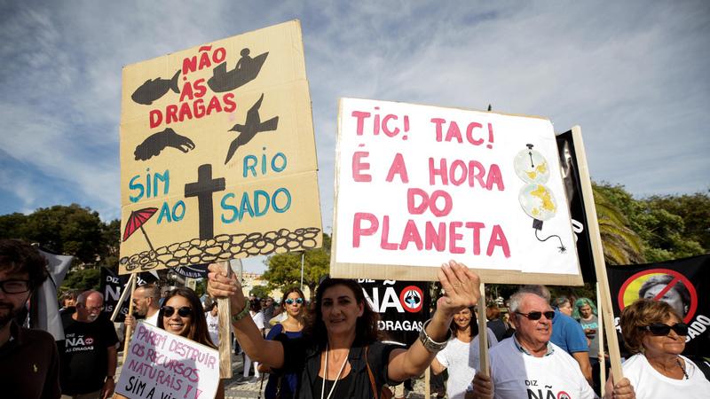 Tribunal suspende dragagens no Sado mas administração do Porto de Setúbal vai contestar
