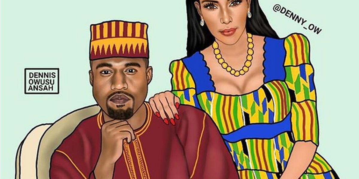 o jovem que vestiu beyonc u00e9 e kim kardashian com trajes africanos - dicas e tend u00eancias
