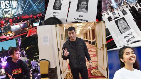 MTV VMAs: O que não se vê na televisão