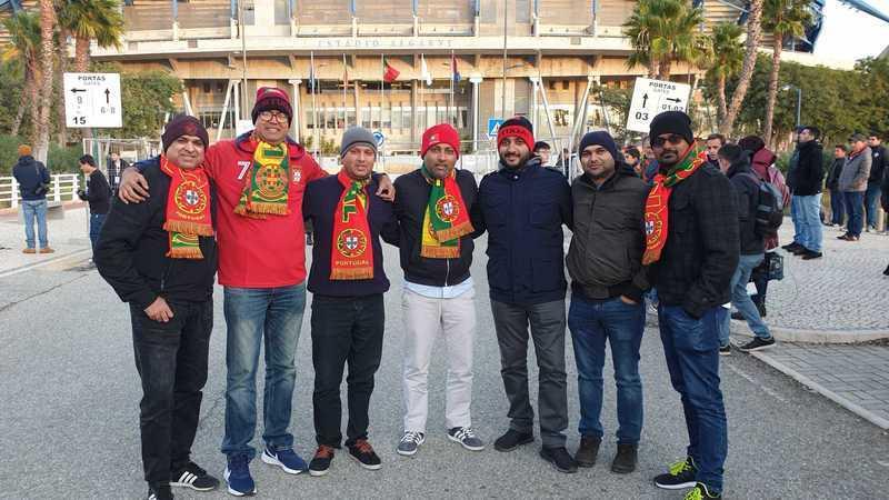 O dois-em-um perfeito: conquistaram a Diwali Cup e agora vão ver o Portugal-Lituânia