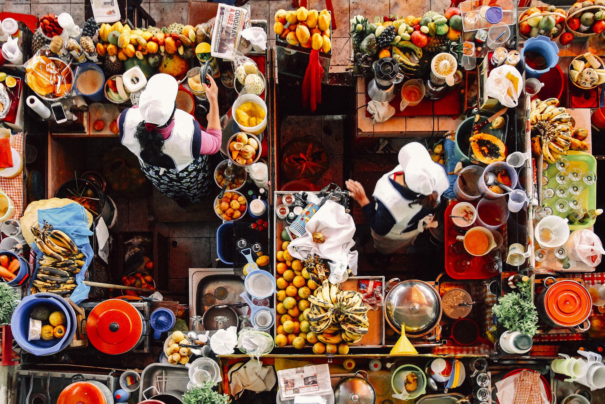 Quatro mercados gastronómicos para uma aventura gourmet