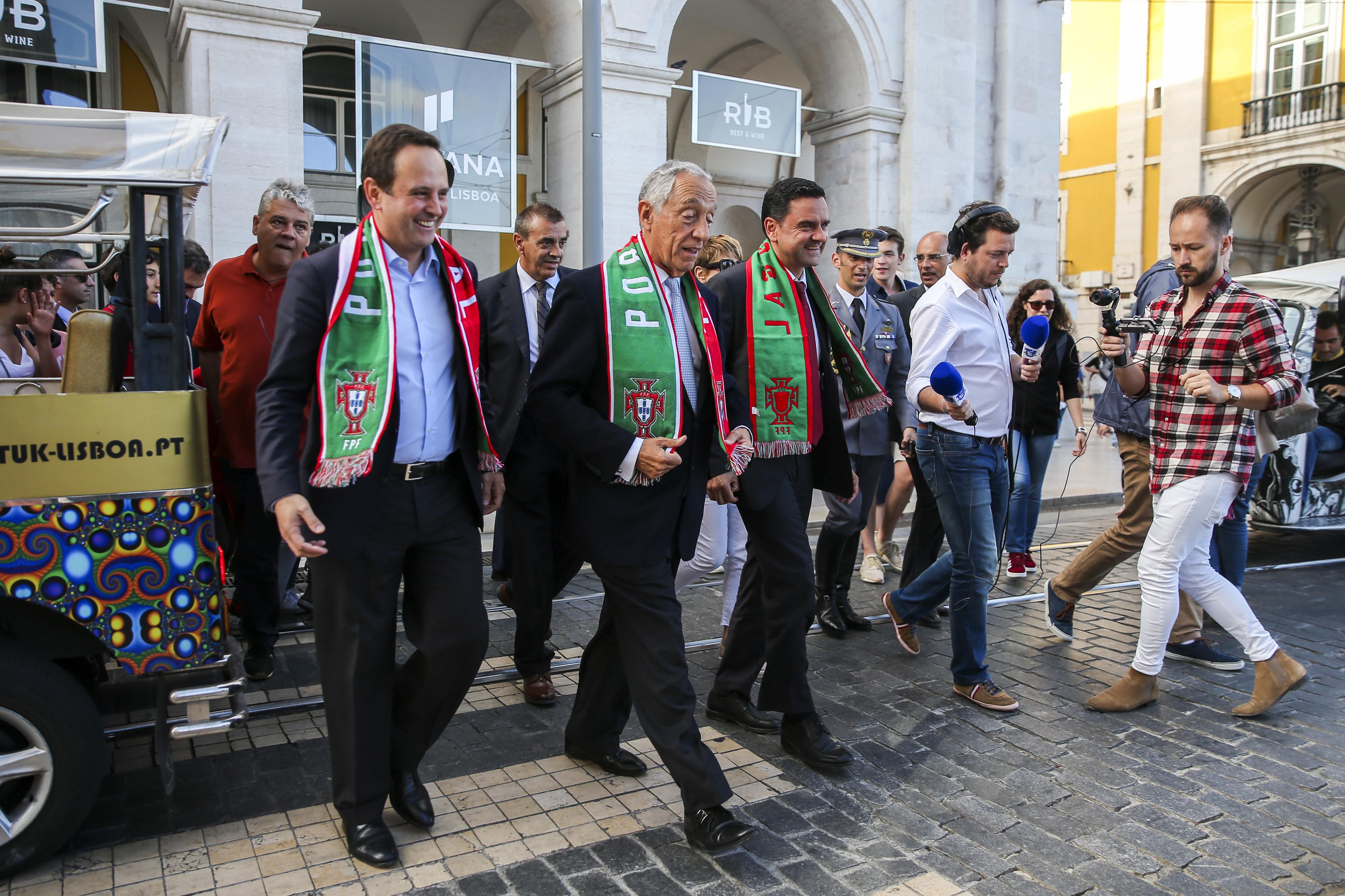 """Mundial2018: Marcelo diz que foi """"dos jogos mais sofridos"""" de Portugal"""