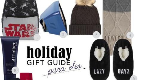 10 prendas de Natal para o namorado (por menos de €10)