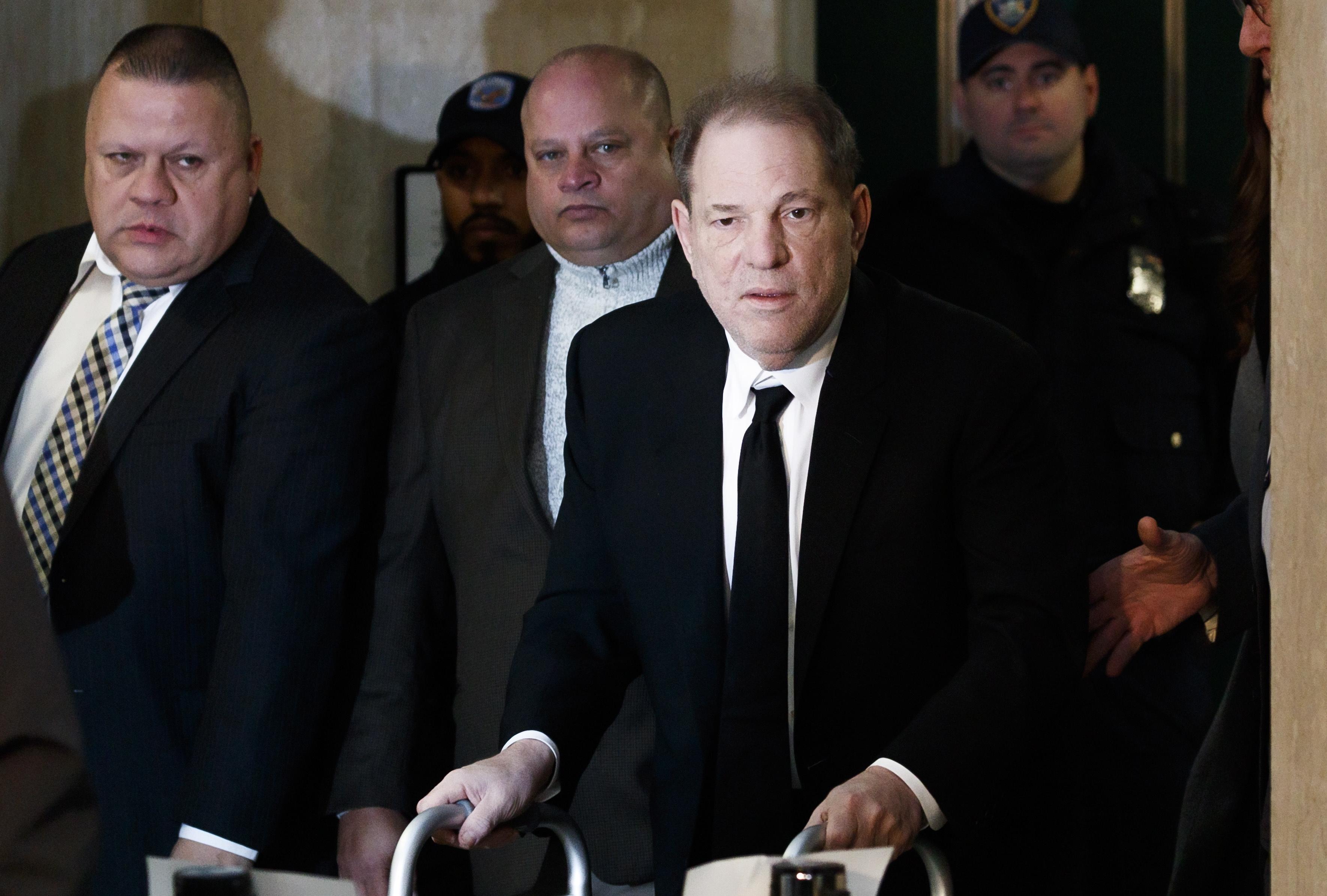 Harvey Weinstein: júri do caso está dividido sobre as acusações mais graves
