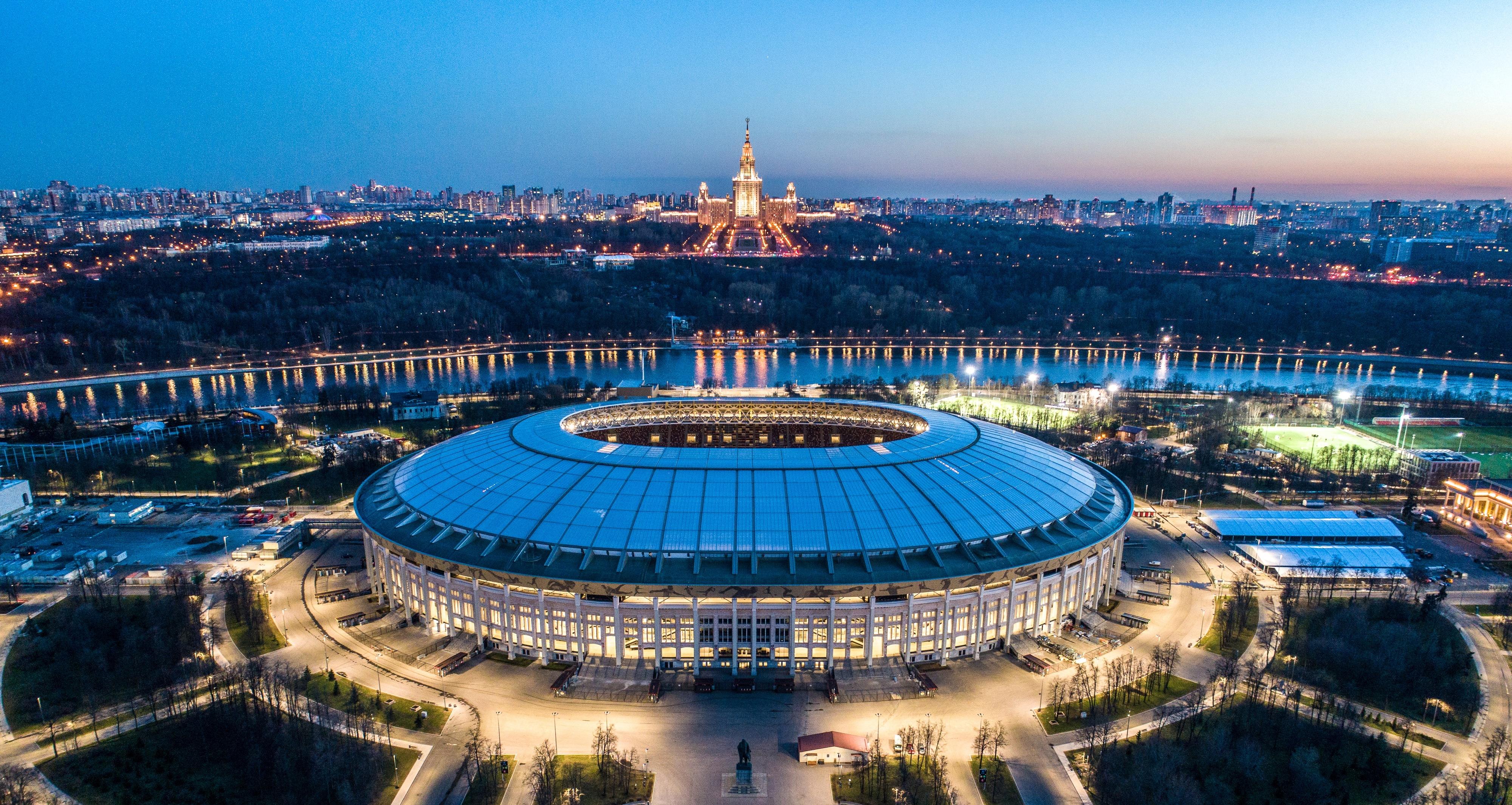 FOTOS: Conheça melhor o Estádio de Luzhniki, palco do Portugal-Marrocos