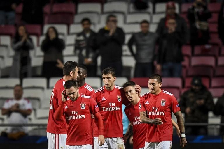 LE: Benfica fora da 'rota' dos 'poderosos', ao contrário do Sporting