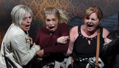 Esta casa de terror é também a casa das caras mais aterrorizadas (e ao mesmo tempo hilariantes)