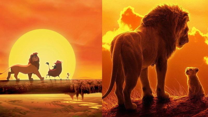 Descubra as diferenças do Rei Leão de 1994 a 2019