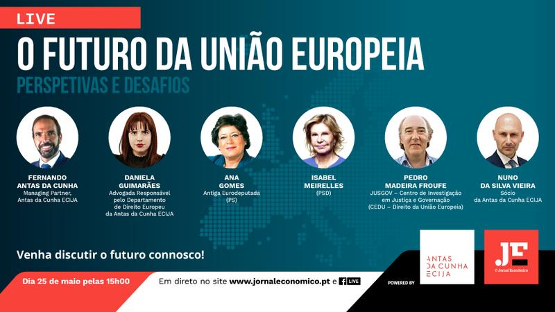 Assista agora ao WEBINAR: O futuro da União Europeia