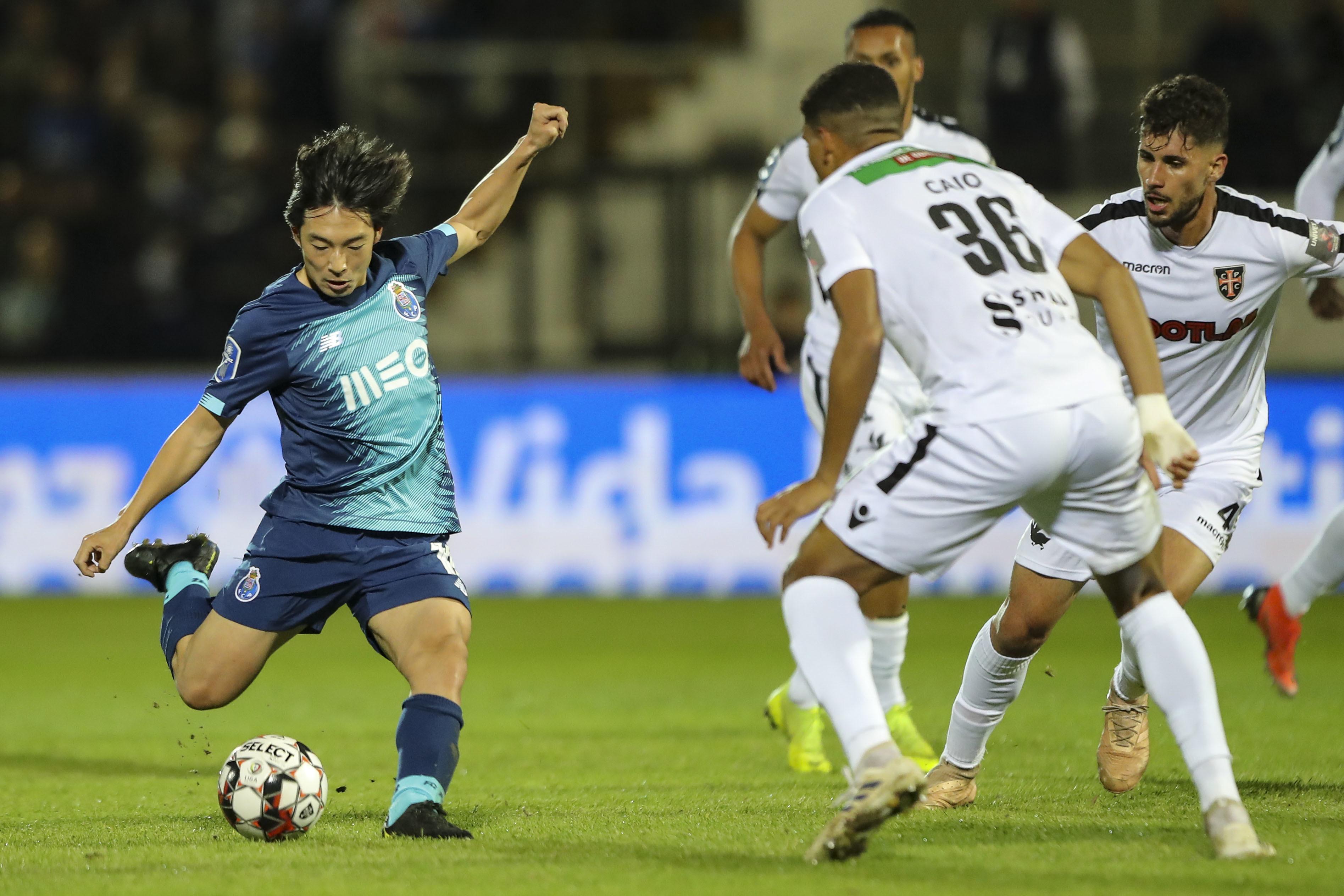 Casa Pia e FC Porto empatados ao intervalo. Eis os principais lances do 1.º tempo