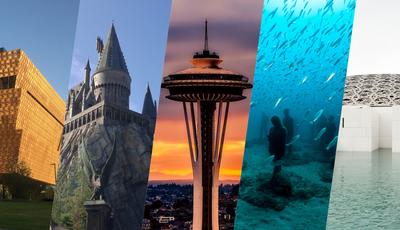 27 lugares incríveis que não poderiam ser visitados na década passada