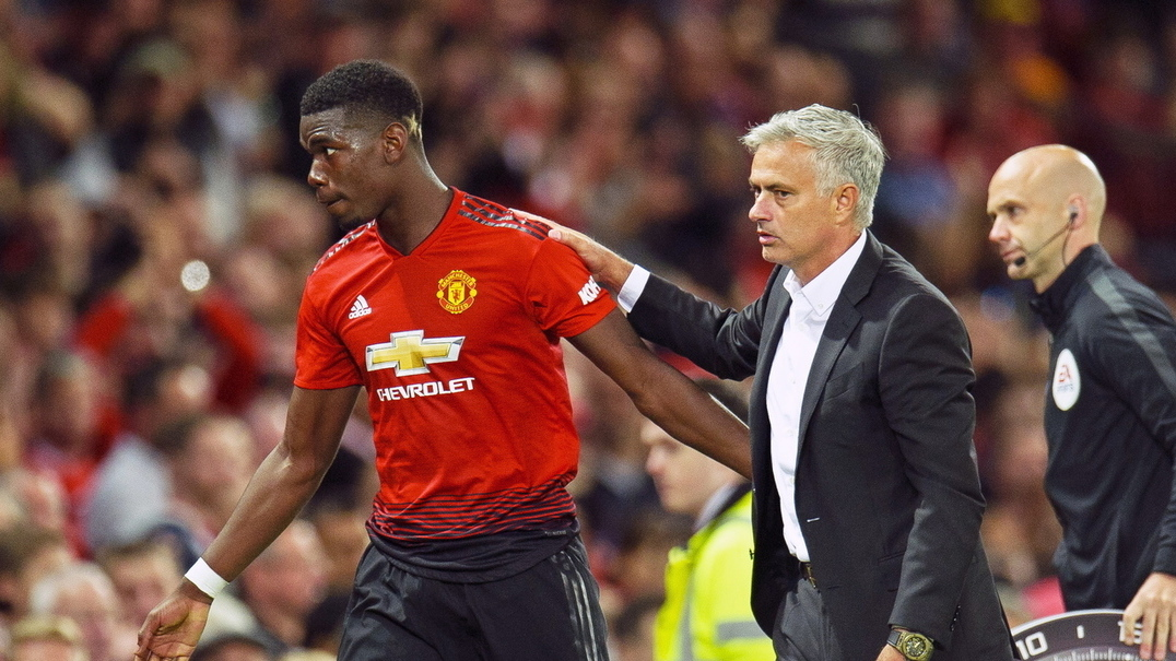 Mourinho desmente ter tido alguma discussão com Pogba