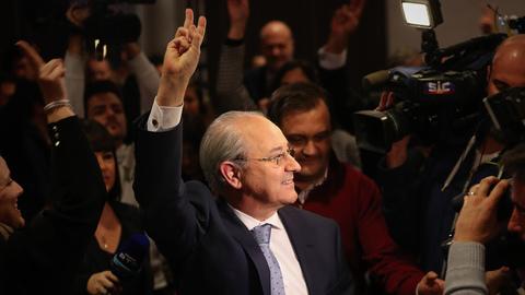 """Rui Rio: """"Hoje eu ganhei o PSD, quero com o PSD começar a ganhar o país"""""""