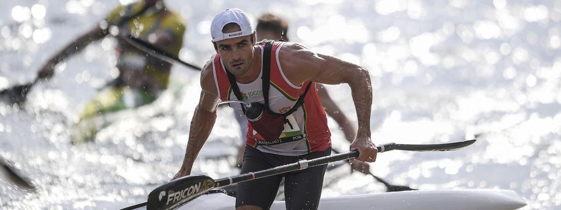 José Ramalho é vice-campeão do mundo de maratonas em canoagem