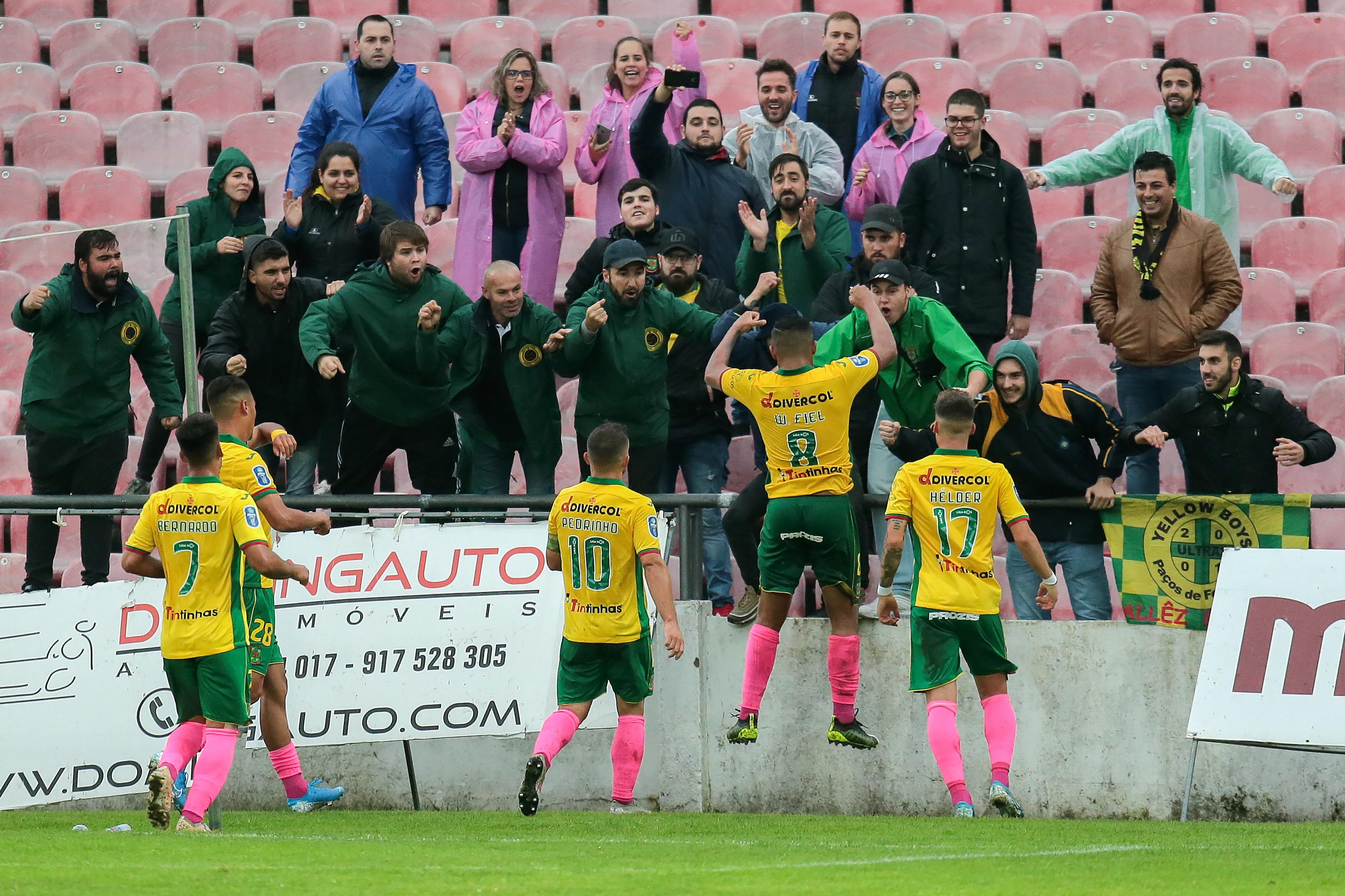 Taça da Liga: Paços de Ferreira vence Penafiel e discute passagem à final four com o SC Braga