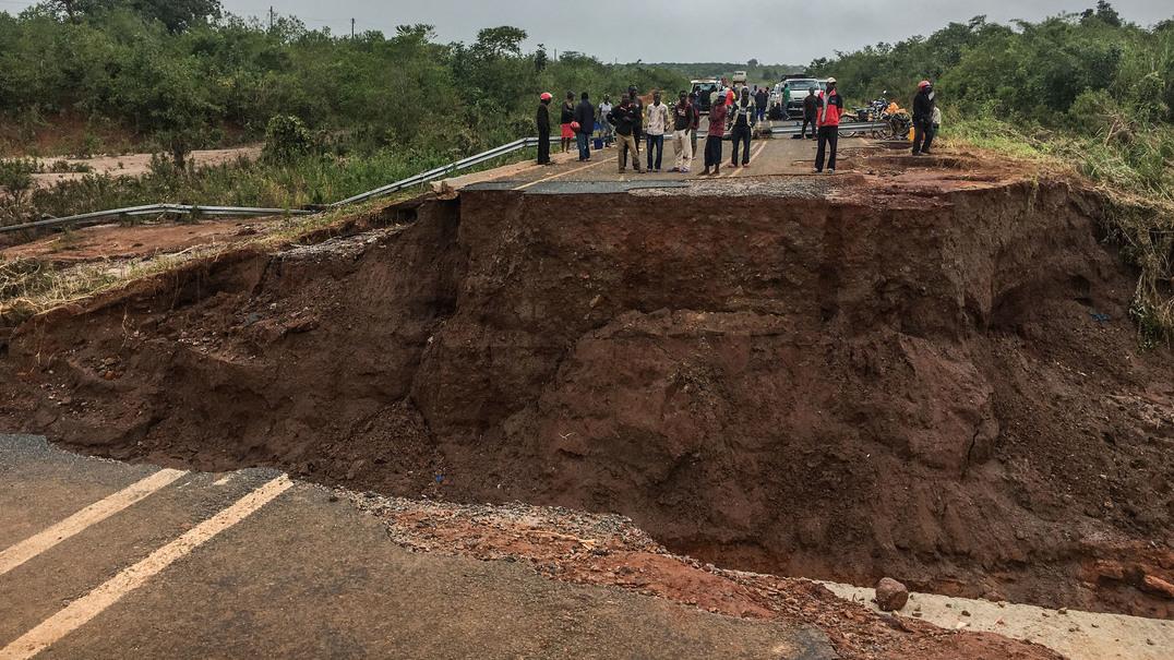 Mais imagens que mostram a destruição do Ciclone Idai em Moçambique