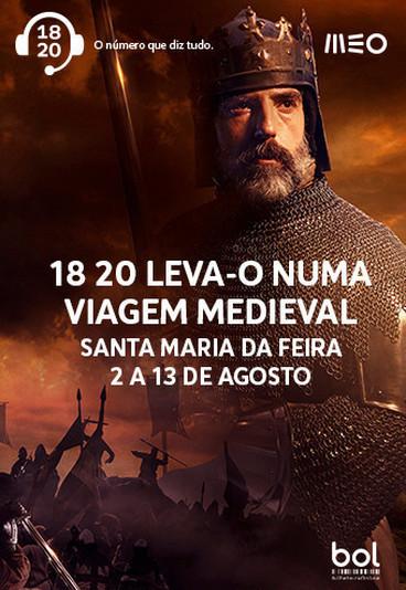 Habilite-se a ganhar bilhetes duplos para a Feira Medieval de Santa Maria da Feira