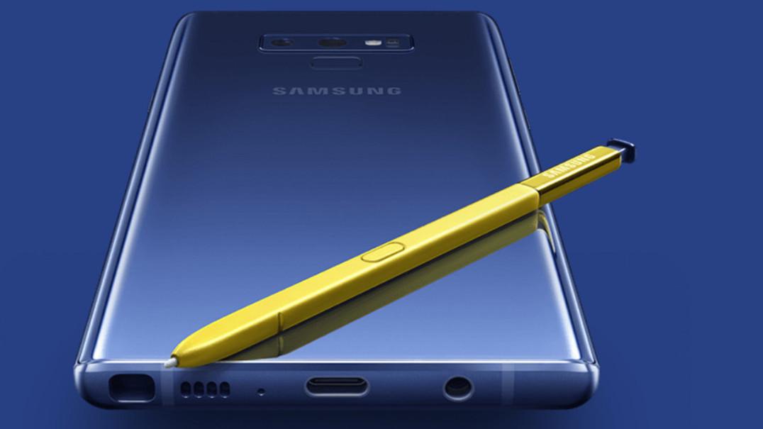 Samsung explica porque o Note 9 é tão parecido ao antecessor