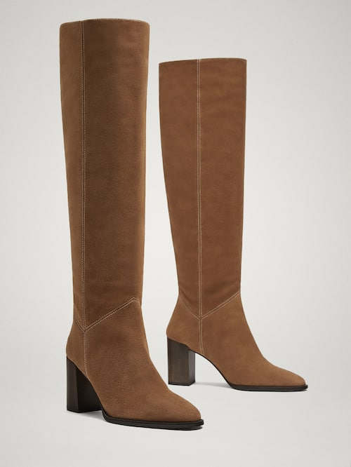 12 botas de cano alto que precisa no seu look Moda MAGG