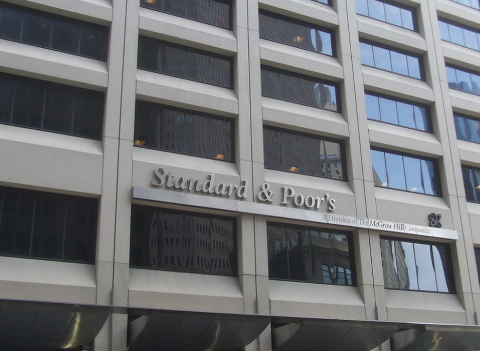 Standard and Poor's mantém 'rating' e perspetiva de Portugal inalterados