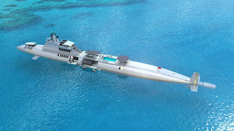 Esqueça os iates de luxo: Submarinos são a mais recente extravagância dos super ricos