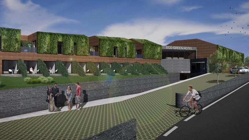 Cinco milhões de euros para construir o Eco Green Hotel em Ponte de Lima